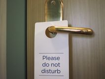 please do not disturb Stock Images