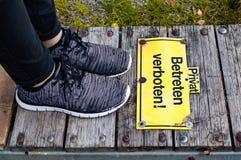 Please do not Enter Royalty Free Stock Photo