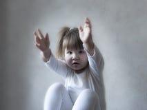 Please go ahead. Baby; hand; please go ahead Royalty Free Stock Photos