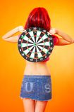 Please Hit the Target! Stock Images