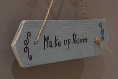 Please make up room Stock Image