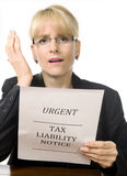 Please -  no more taxes! Stock Photo