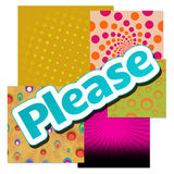 Please Text Various Colorful Backgrounds Royalty Free Stock Image