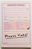 Please Vote Important Message Royalty Free Stock Photography