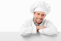 Pleased cook Royalty Free Stock Photos