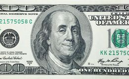 Pleased President Benjamin Franklin Royalty Free Stock Photography