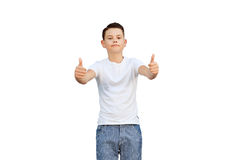 Pleased young man Stock Photography