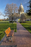 Pleasent view of the State capital of Idaho Royalty Free Stock Photography