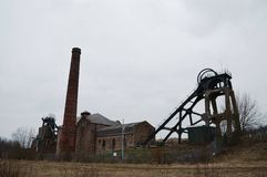 Pleasley Colliery Stock Images