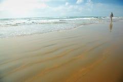Pleasure at the beach Royalty Free Stock Photos