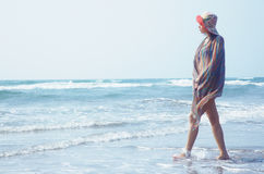 Pleasure at the beach Royalty Free Stock Images