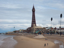 Free Pleasure Beach And Tower In Blackpool Royalty Free Stock Photography - 79074437