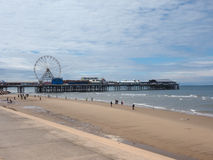 Pleasure Beach in Blackpool Royalty Free Stock Photos