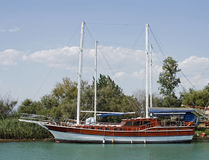 Pleasure boat royalty free stock images