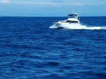Pleasure Boat. Off the Coast of California Stock Images