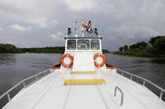 Pleasure boat Royalty Free Stock Image