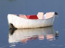 Pleasure boat. Boat on Pokhara lake, Nepal Royalty Free Stock Photography