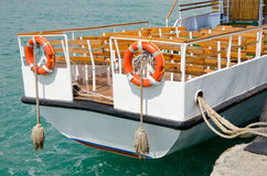 Pleasure boat Royalty Free Stock Photography