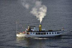 Pleasure Boat near Stockholm, Sweden Royalty Free Stock Photos