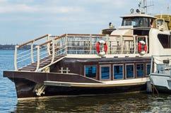 Pleasure boat Stock Image