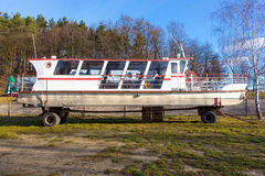 Pleasure boat Stock Photography