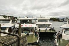 Pleasure-boat Royalty Free Stock Photo