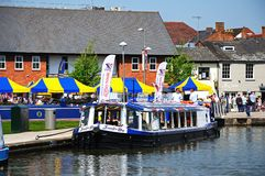 Pleasure boat, Stratford-upon-Avon. Stock Images