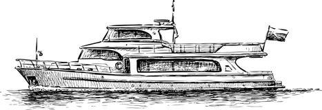 Pleasure boat Royalty Free Stock Image