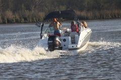 Pleasure Boating Stock Image