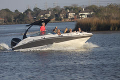 Pleasure Boating Stock Photos