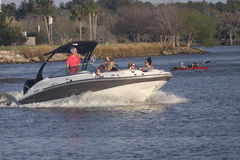 Pleasure Boating Royalty Free Stock Photography