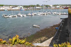 Pleasure boats - Concarneau - France Royalty Free Stock Photo