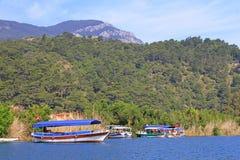 Pleasure boats, Turkey Stock Photography