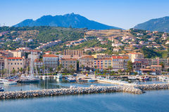 Pleasure boats and yachts in Propriano Royalty Free Stock Photography