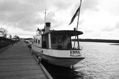 Pleasure craft in Lappeenranta harbor. Stock Images