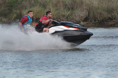 Pleasure Craft. Weekend pleasure  Jet Ski  in Nassau Bay Texas Stock Photos