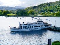 Pleasure cruiser at Ambleside, Lake District Royalty Free Stock Image