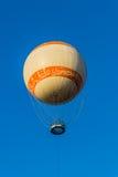 Pleasure flight by the moored balloon Stock Photos