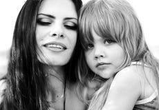 Pleasure of motherhood Royalty Free Stock Image