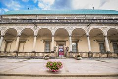 The summer palace of Queen Anne in summer in Prague, Czech Republic Royalty Free Stock Images