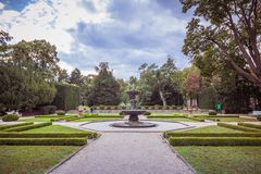 The summer palace of Queen Anne in summer in Prague, Czech Republic Royalty Free Stock Photos