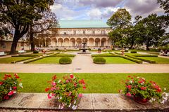 The summer palace of Queen Anne in summer in Prague, Czech Republic Stock Photos