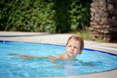 Pleasure in the pool Stock Photos