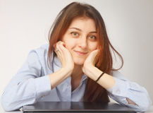Pleasure, relaxation (Body language, gestures, psychology) Royalty Free Stock Photography