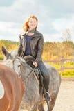 Pleasure riding Stock Images