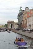 Pleasure river boat. Stock Image
