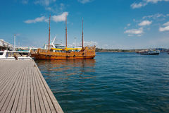 Pleasure ship Royalty Free Stock Photos