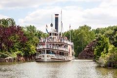 Pleasure ship Molly Brown at Disneyland Paris Stock Image