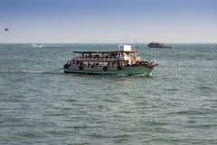 Pleasure boat in Thailand Royalty Free Stock Photos