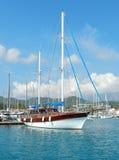 Pleasure yacht Stock Photo